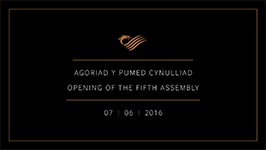 OPENING OF THE FIFTH ASSEMBLY