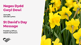 St David's Day Message