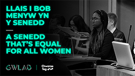 A Senedd that's equal for all women
